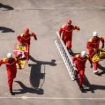 آغاز رقابت آتش نشانان و امدادگران کشور درجزیره کیش