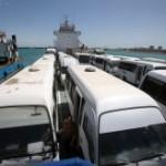 درآستانه سال نو ۱۰ هزار گردشگر از مسیر دریایی وارد جزیره کیش شدند
